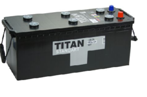 Аккумулятор TITAN STANDART 6СТ-135.3 L