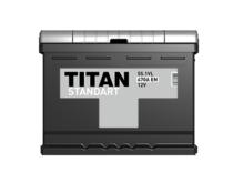 Аккумулятор TITAN STANDART 6CT-55.1 VL