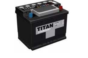 Аккумулятор TITAN STANDART 6CT-66.0 VL