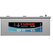 Аккумулятор TUBOR AQUATECH 6СТ-225.3 VL (конус+барашек)