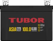 Аккумулятор TUBOR ASIA EFB 6СТ-100.0 VL B00 (конус +барашек)