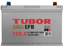 Аккумулятор TUBOR ASIA EFB 6СТ-100.0 VL B01