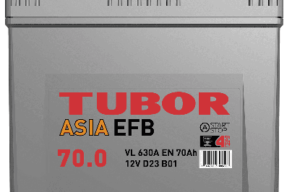Аккумулятор TUBOR ASIA EFB 6СТ-70.0 VL B01