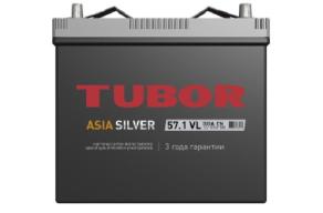 Аккумулятор TUBOR ASIA SILVER 6СТ-57.1 VL B00