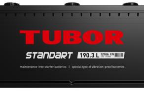 Аккумулятор TUBOR STANDART 6СТ-190.3 L