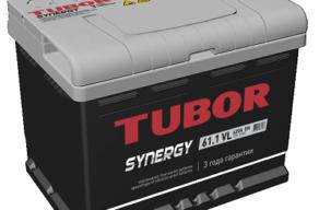Аккумулятор TUBOR SYNERGY 6СТ-61.1 VL