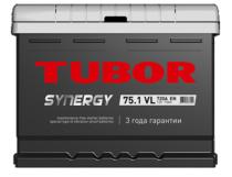 Аккумулятор TUBOR SYNERGY 6СТ-75.1 VL