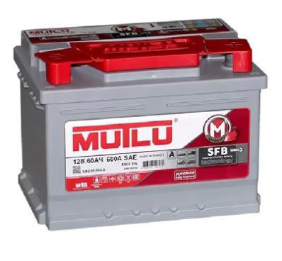 Аккумулятор MUTLU SFB 3  SMF 56054 / LB2.60.054.A