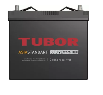 Аккумулятор TUBOR ASIA STANDART 6СТ-50.0 VL B00