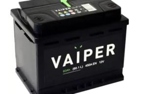 Аккумулятор VAIPER 6СТ-60.1 L
