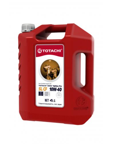 Масло полусинтетическое TOTACHI NIRO OPTIMA PRO SEMI-SYNTHETIC SL/CF 10W-40