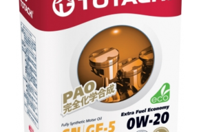 TOTACHI Extra Fuel Fully Synthetic SN 0W-20