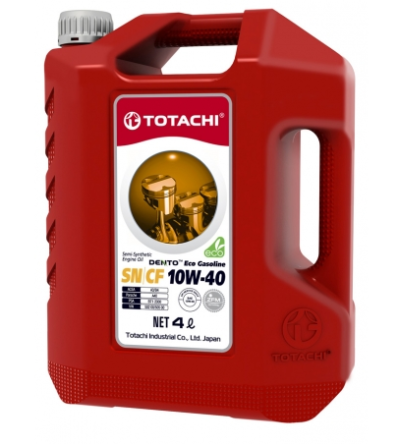 TOTACHI DENTO ECO GASOLINE SEMI-SYNTHETIC 10W-40