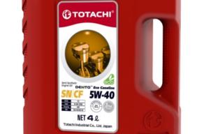 TOTACHI DENTO ECO GASOLINE SEMI-SYNTHETIC 5W-40