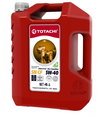 Масло полусинтетическое TOTACHI DENTO ECO GASOLINE SEMI-SYNTHETIC 5W-40