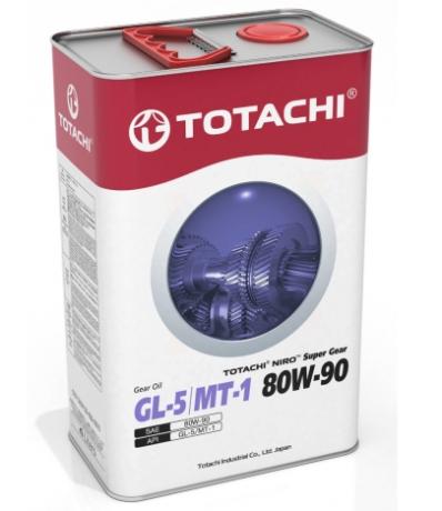 Масло трансмиссионное TOTACHI NIRO SUPER GEAR SAE 80W-90, GL-5