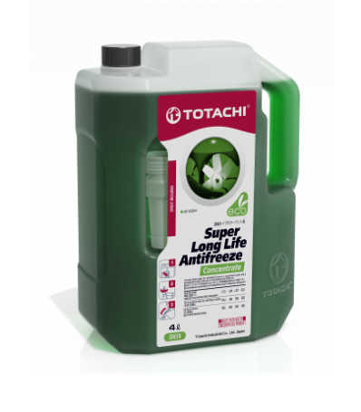 Антифриз TOTACHI SUPER LONG LIFE ANTIFREEZE Green (Концентрат)