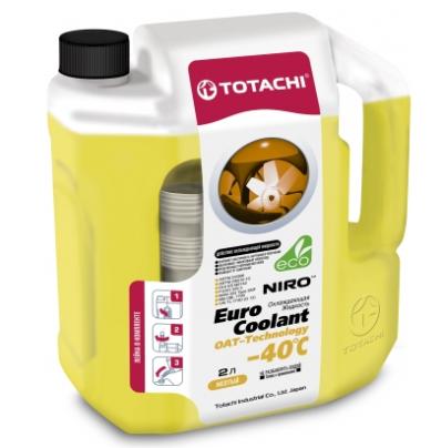 Антифриз TOTACHI NIRO  EURO COOLANT OAT TECHNOLOGY -40°C