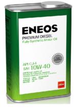 Масло моторное синтетическое ENEOS Premium Diesel 10W-40